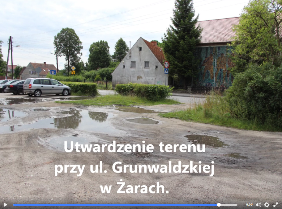 Ilustracja do informacji: Plac przy ulicy Grunwaldzkiej