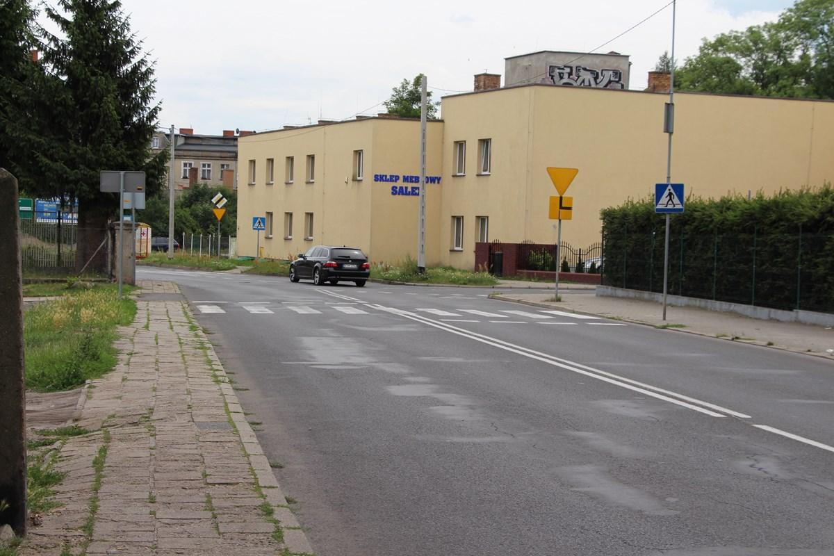 Ilustracja do informacji: Ulica Jagiellońska i Żabikowska