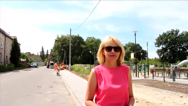 Ilustracja do informacji: Przebudowa chodników przy ul. Westerplatte