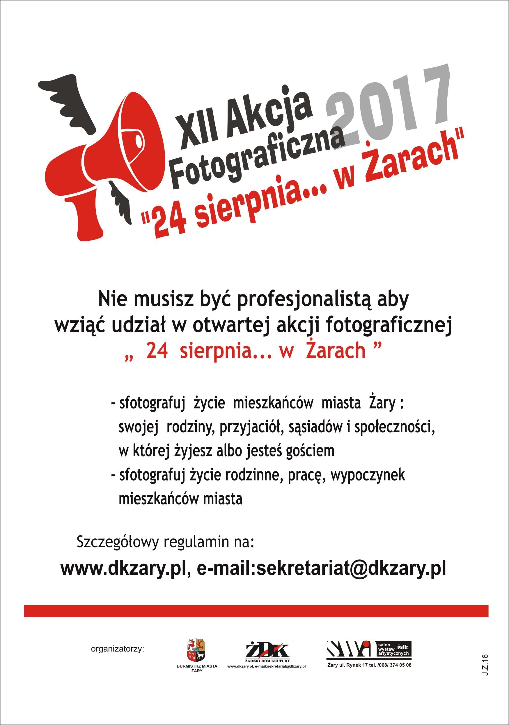 """Ilustracja do informacji: Akcja fotograficzna """"24 sierpnia... w Żarach"""""""