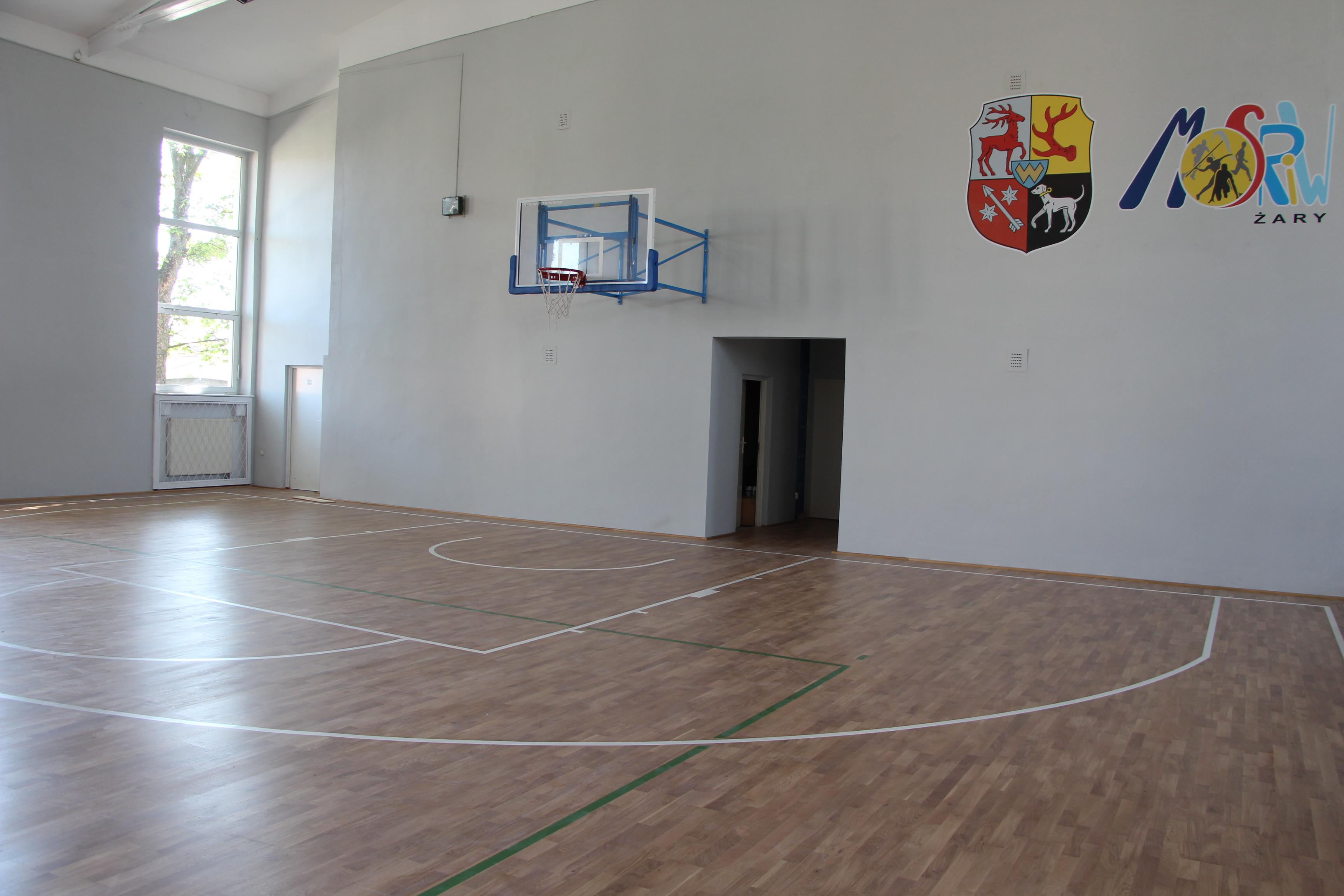 Ilustracja do informacji: Hala sportowa Promień