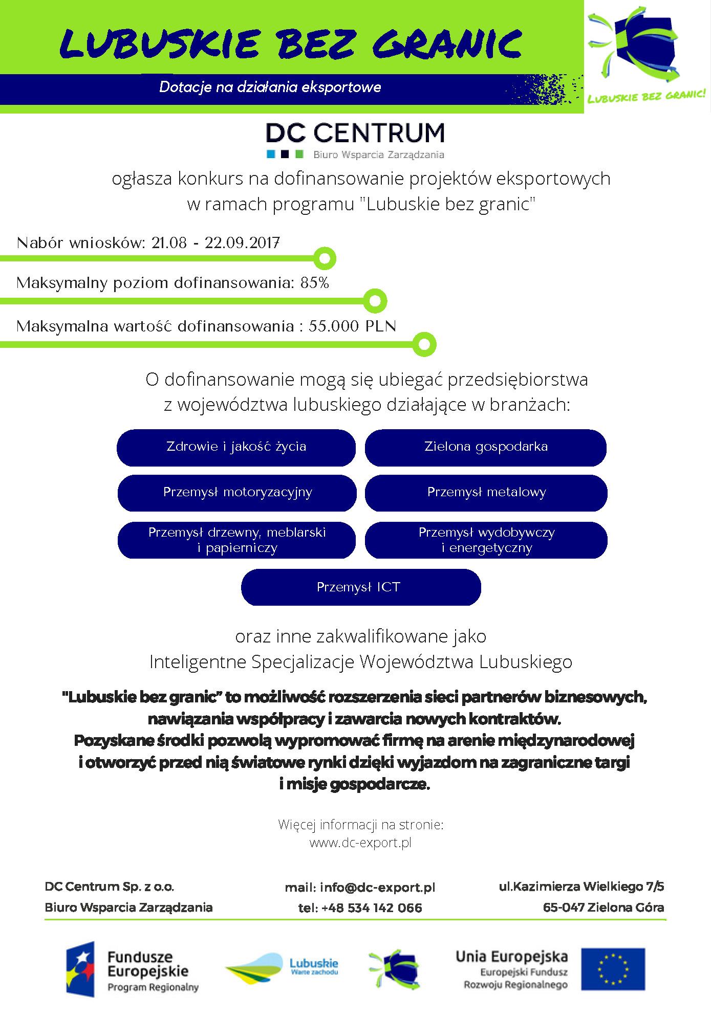 Ilustracja do informacji: Dofinansowanie działań eksportowych MŚP