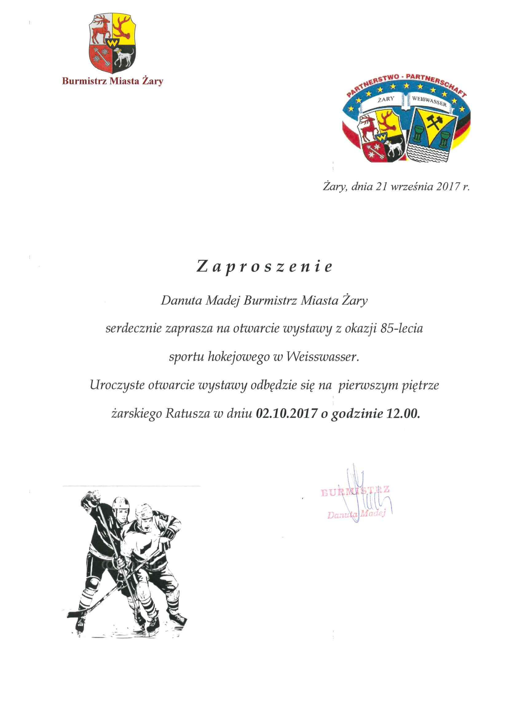Ilustracja do informacji: Zapraszamy na otwarcie wystawy w żarskim ratuszu