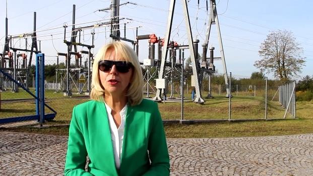 Ilustracja do informacji: Uruchomienie linii energetycznej 110 KV relacji Nowogród Bobrzański-Żary