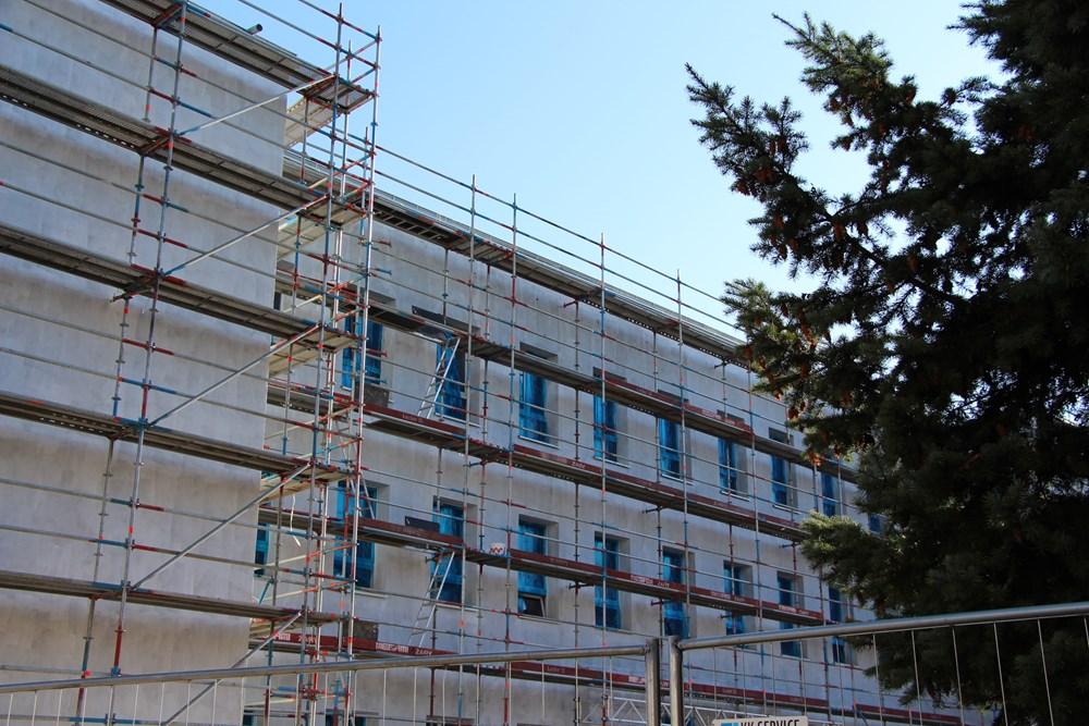 Ilustracja do informacji: Trwa termomodernizacja budynku Gimnazjum Nr 3