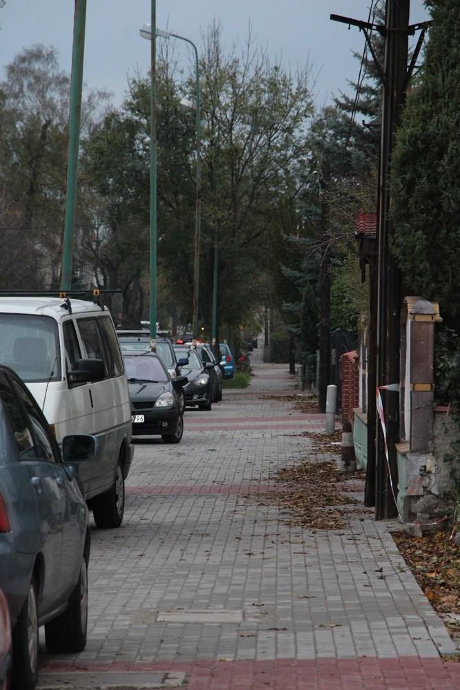 Ilustracja do informacji: Ulica Baczyńskiego