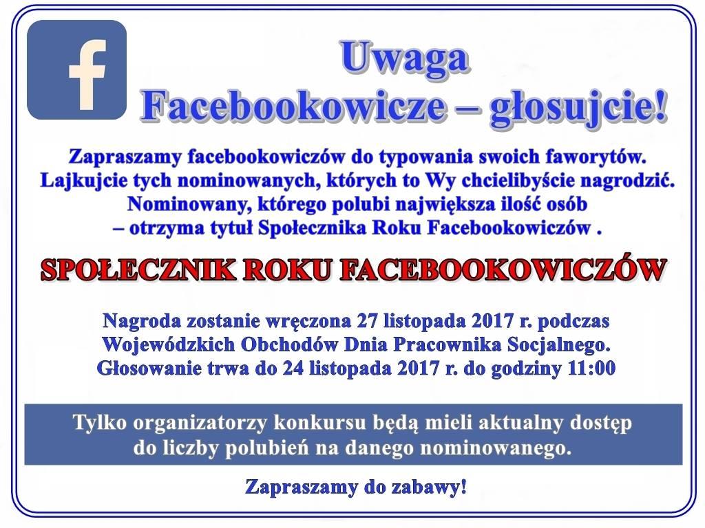 """Ilustracja do informacji: """"Społecznik roku 2107"""""""