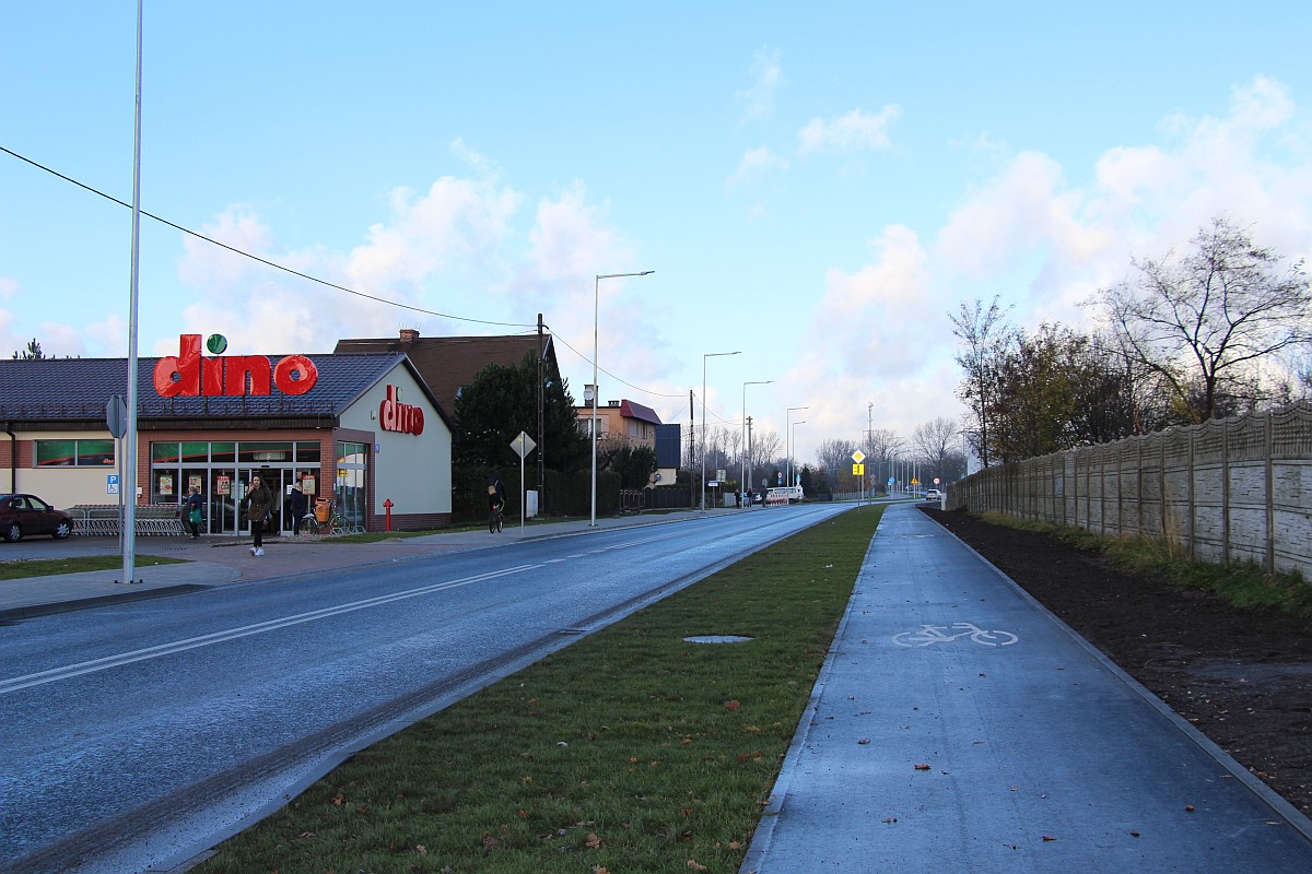 Ilustracja do informacji: Ulica Zielonogórska jest otwarta dla ruchu. Trwają czynności odbiorowe