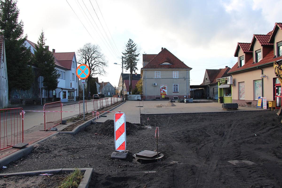Ilustracja do informacji: Plac przy Grunwaldzkiej
