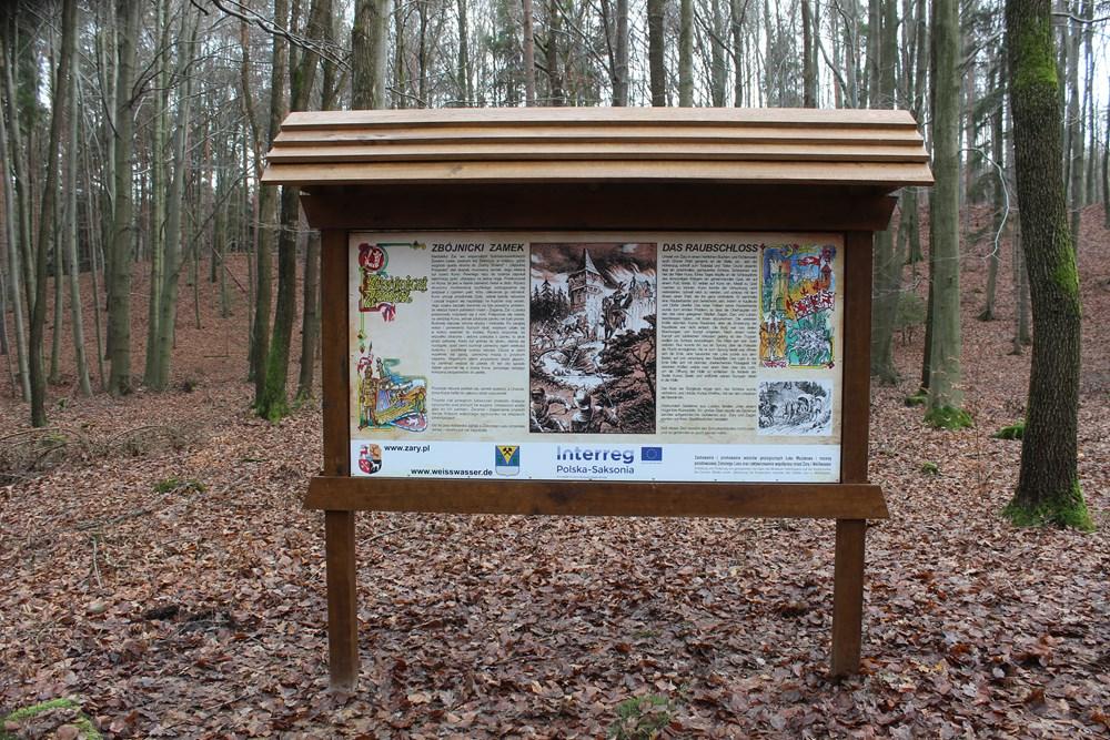 Ilustracja do informacji: Tablice w Zielonym Lesie