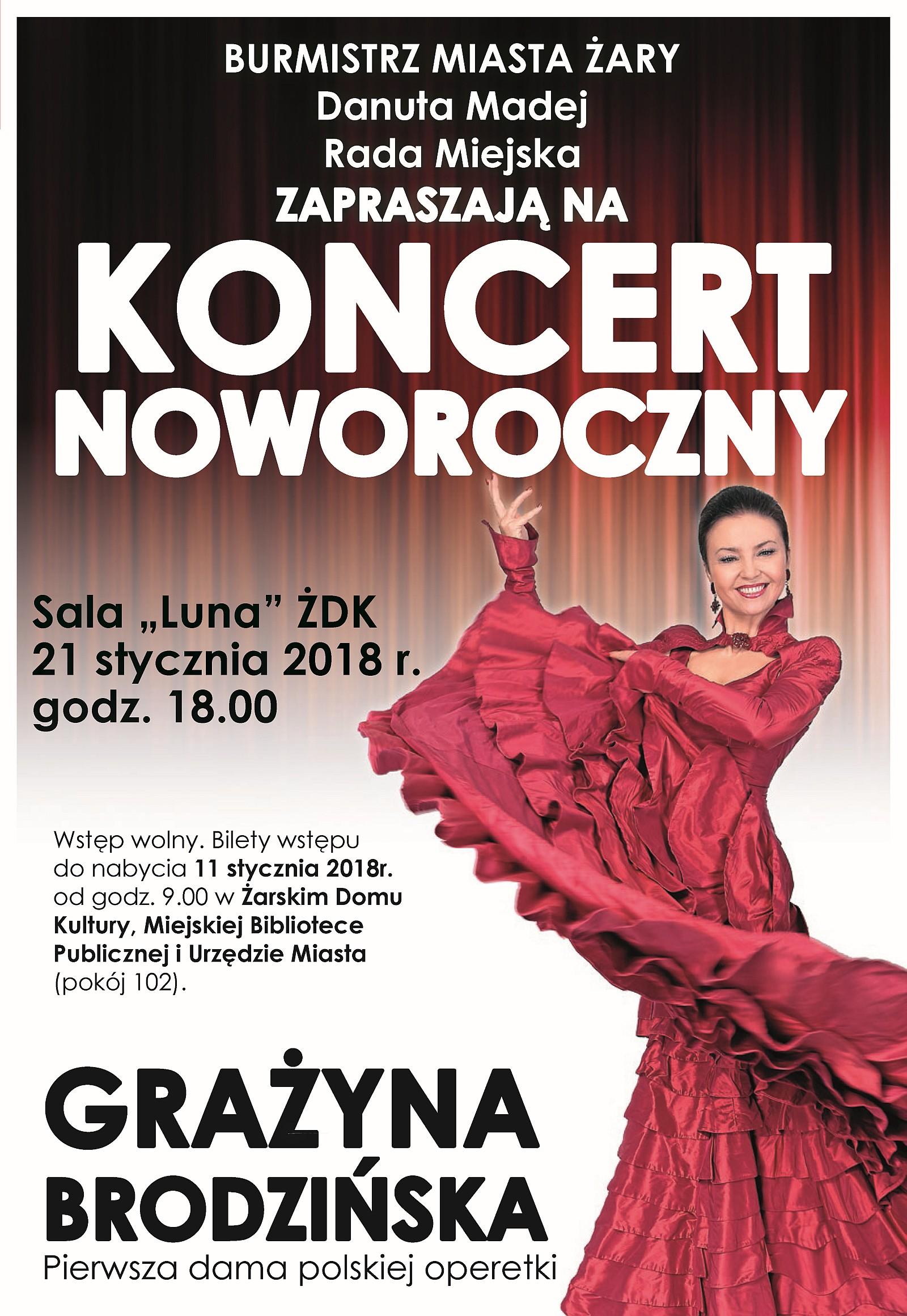 Ilustracja do informacji: Koncert Noworoczny