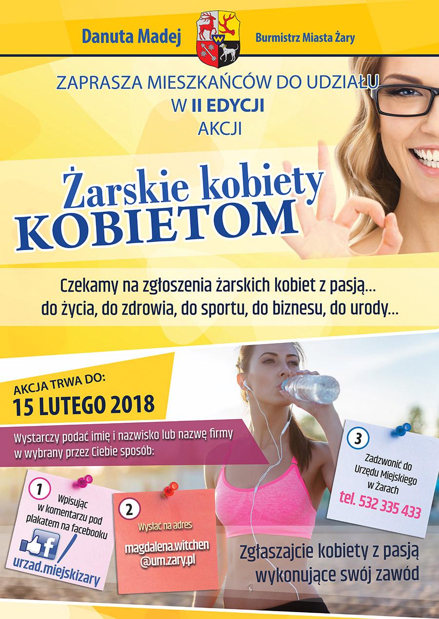 """Ilustracja do informacji: II edycja akcji """"Żarskie kobiety kobietom"""""""