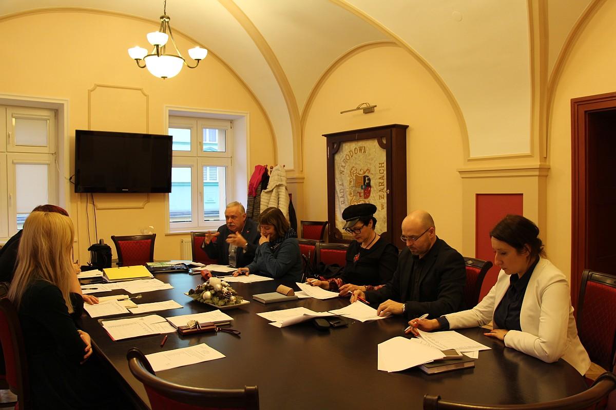 Ilustracja do informacji: W piątek 12 stycznia br. odbyło się drugie spotkanie Kapituły Żarskiej Róży Biznesu III edycja.