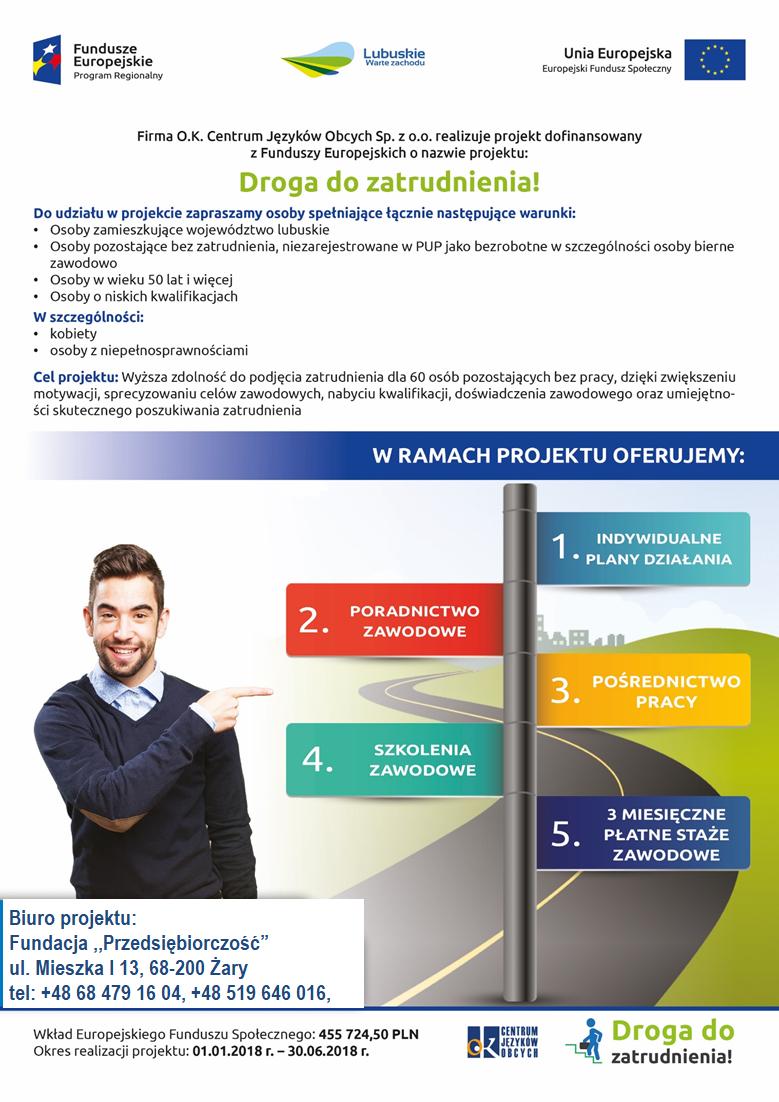 Ilustracja do informacji: DROGA DO ZATRUDNIENIA