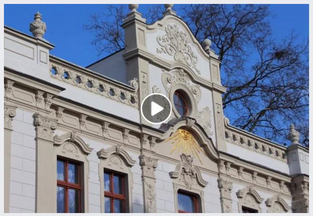 Ilustracja do informacji: Nowa elewacja Miejskiej Biblioteki Publicznej w Żarach