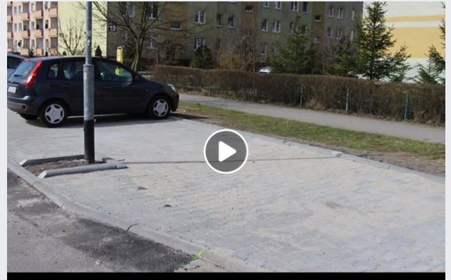 Ilustracja do informacji: Parkingi - Zawiszy Czarnego w ramach bieżącego utrzymania dróg.