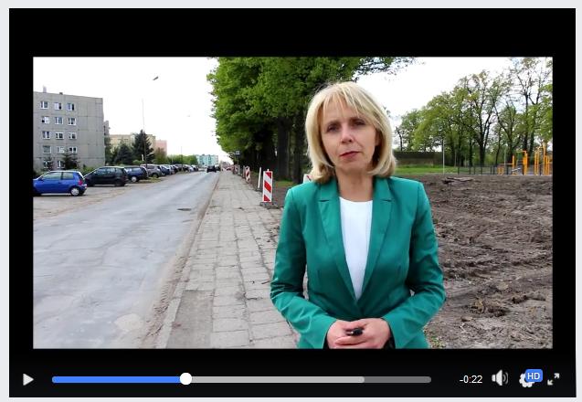 Ilustracja do informacji: Ulica Paderewskiego – remont chodnika