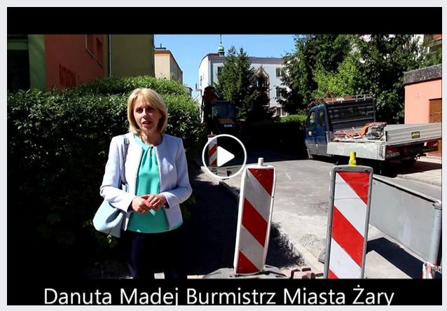 Ilustracja do informacji: II część przebudowy chodnika- ulica Ratuszowa