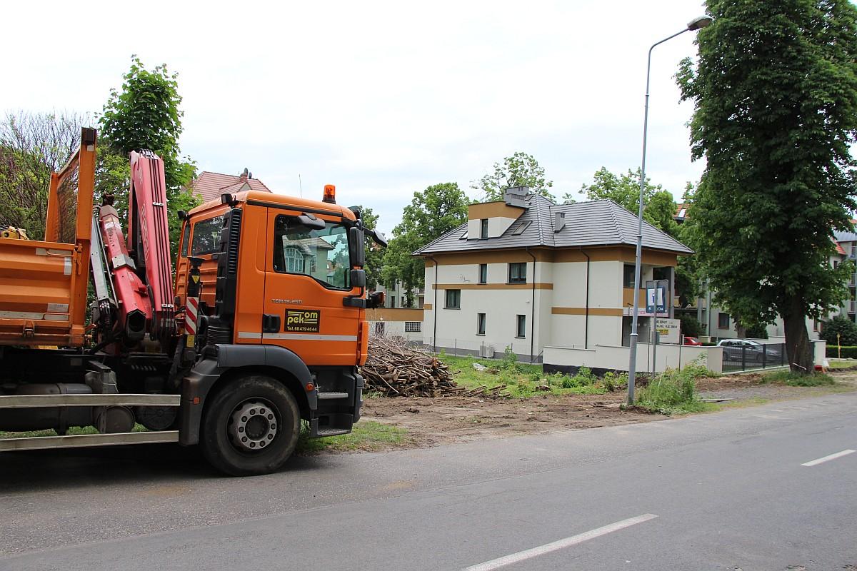 Ilustracja do informacji: Ulica Poznańska