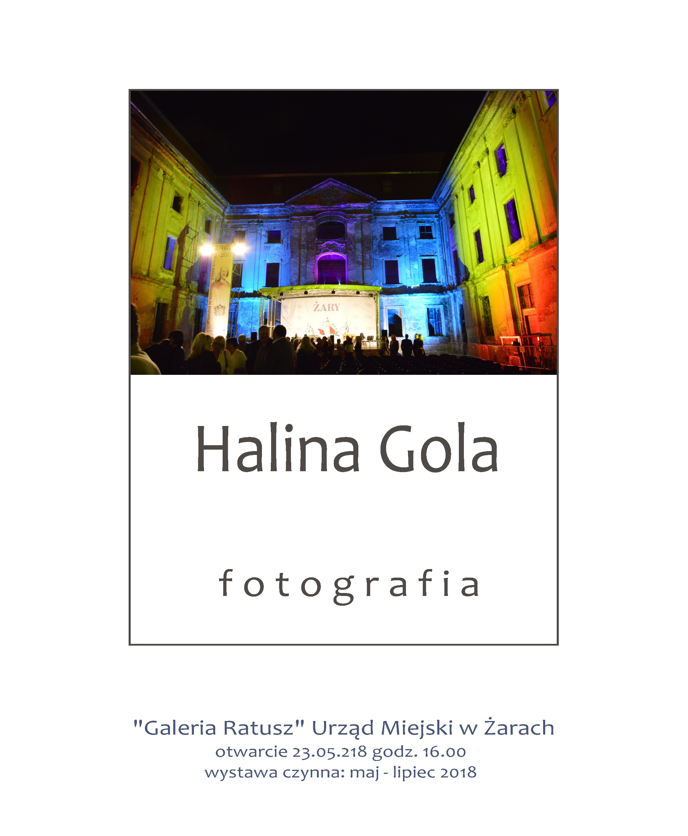 Ilustracja do informacji: Halina Gola - fotografia
