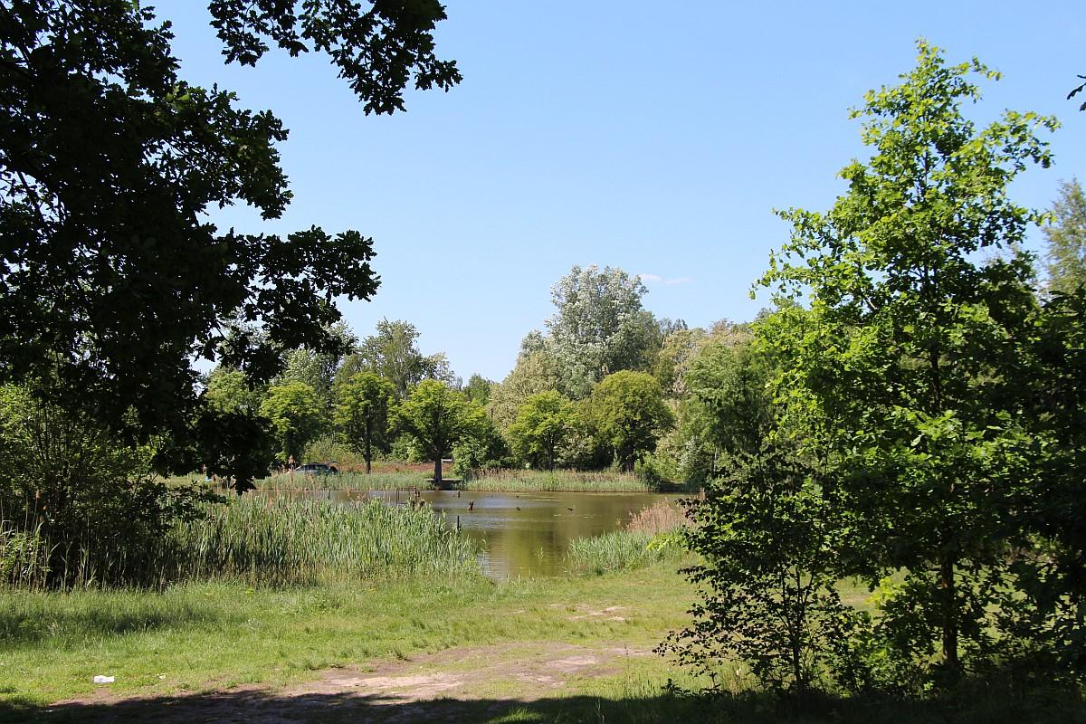 Ilustracja do informacji: Zagospodarowanie terenu wokół dawnego kąpieliska w Kunicach