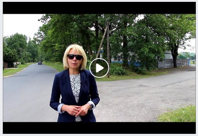 Ilustracja do informacji: Chodnik i ścieżka rowerowa w Kunicach