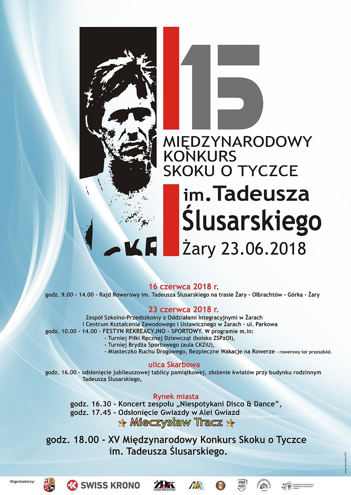 Ilustracja do informacji: 15 Międzynarodowy Konkurs Skoku o Tyczce