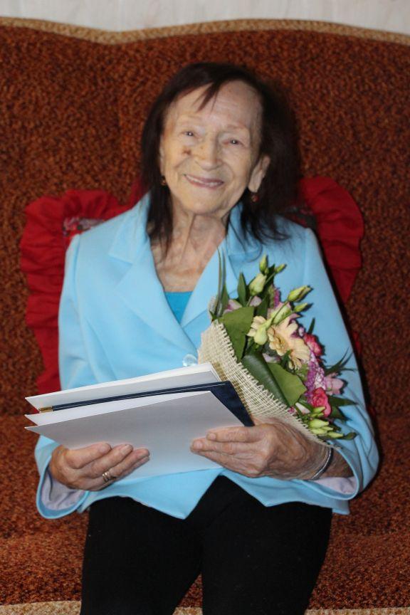 Ilustracja do informacji: Życzenia z okazji 100 urodzin