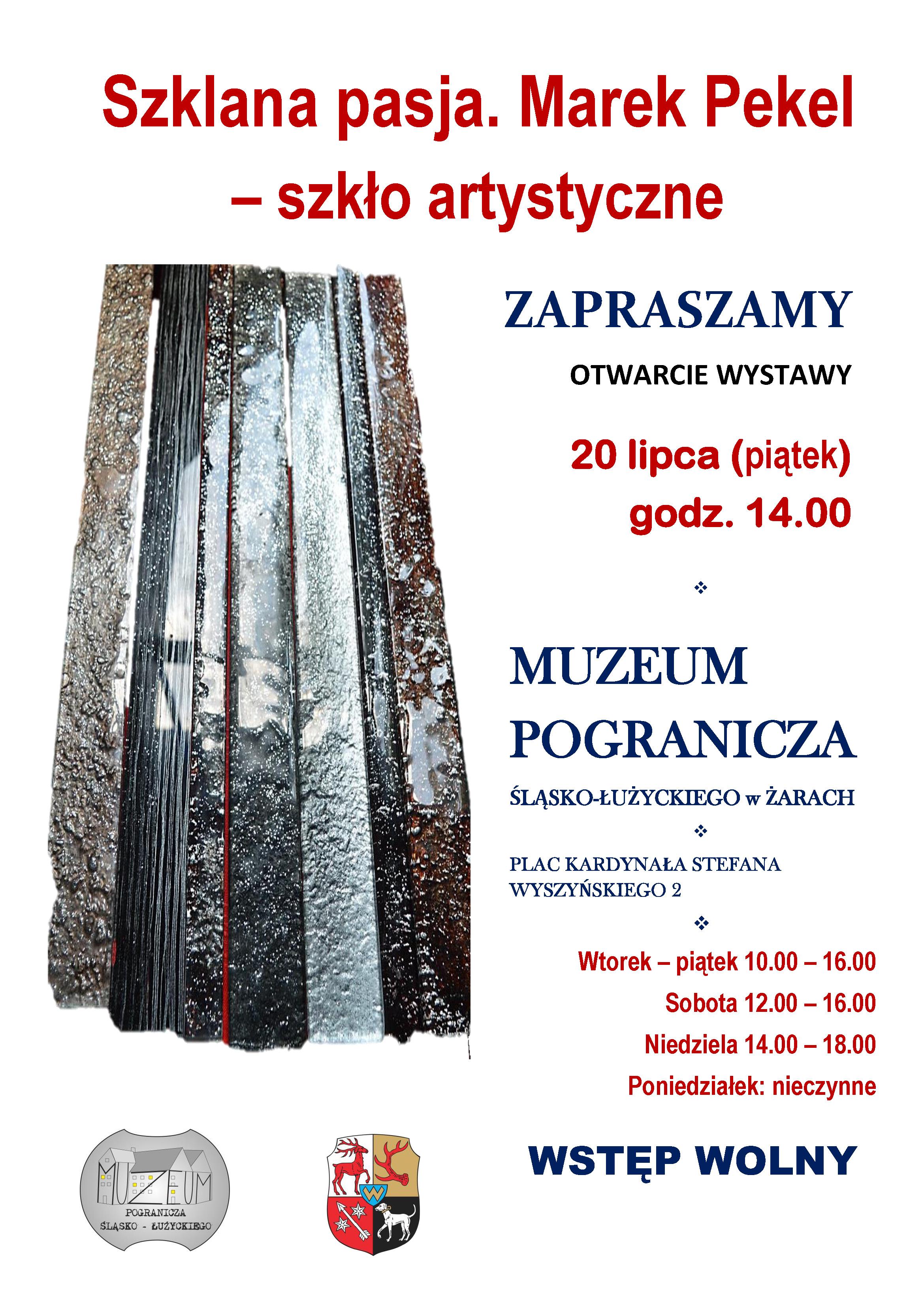 """Ilustracja do informacji: """"Szklana pasja. Marek Pekel – szkło artystyczne"""""""