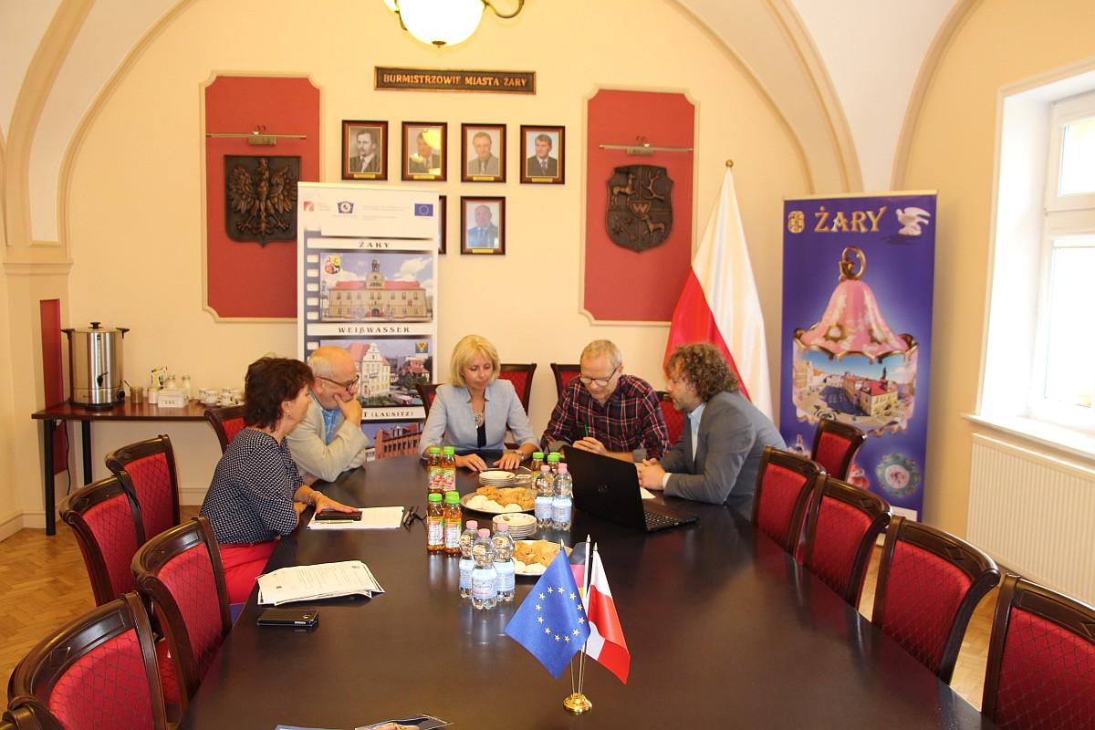 Ilustracja do informacji: Spotkanie z Burmistrzem Weisswasser