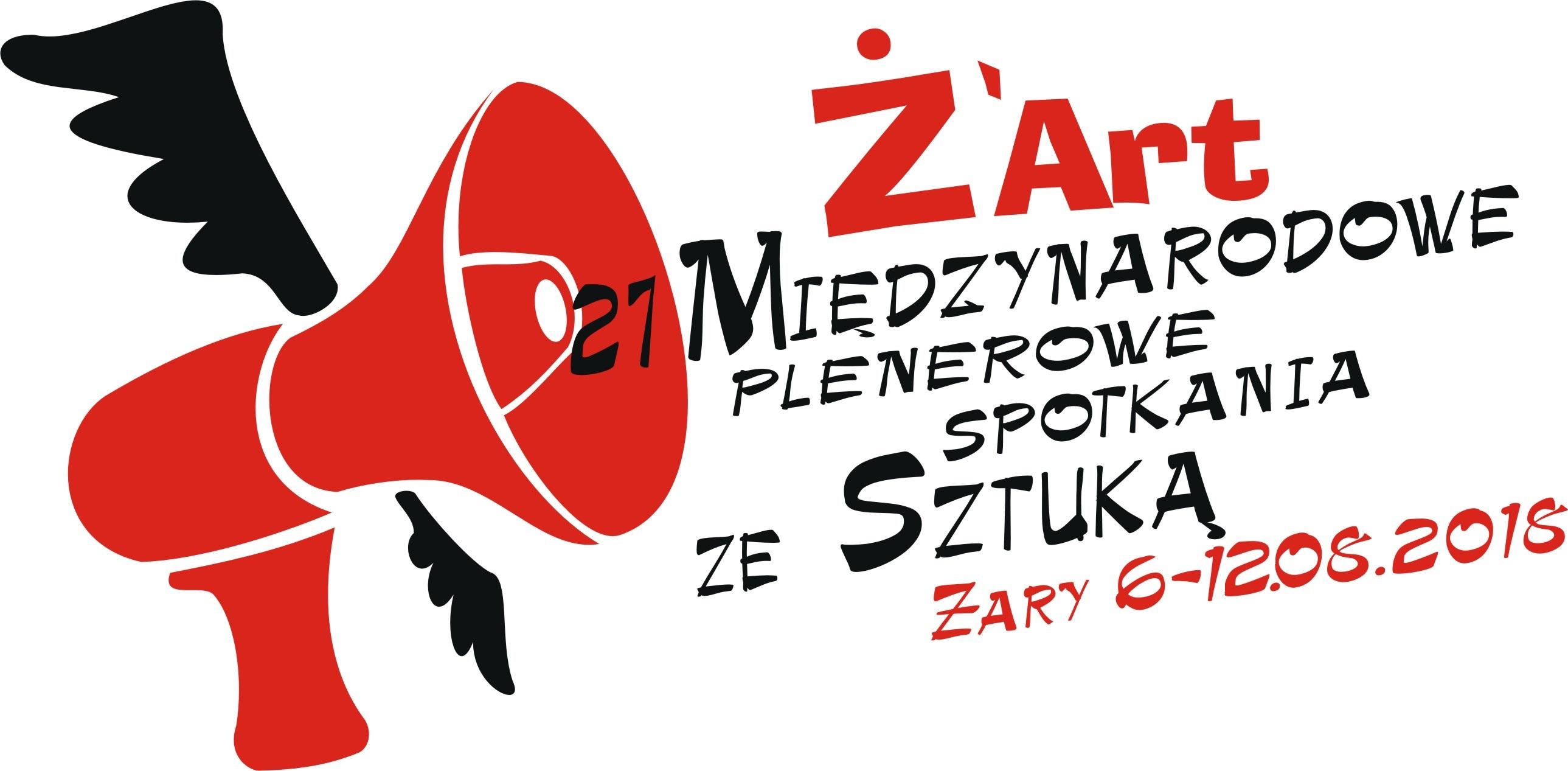 Ilustracja do informacji: Ż'ART - 27 MIĘDZYNARODOWE PLENEROWE SPOTKANIA ZE SZTUKĄ - 6-12.08.2018 r.