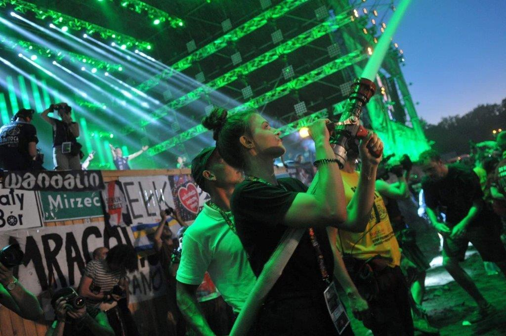 Ilustracja do informacji: Ochotnicy z Żar na Pol'And'Rock Festival