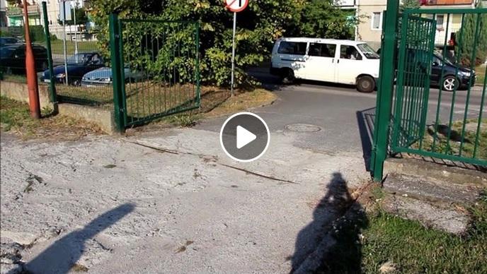 Ilustracja do informacji: Wykonanie parkingu i wjazdu od ul. Szymanowskiego w Żarach do Szkoły Podstawowej nr 1