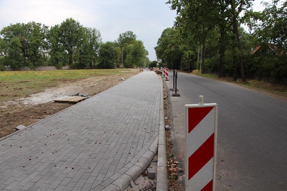 Ilustracja do informacji: Przebudowa drogi w Kunicach