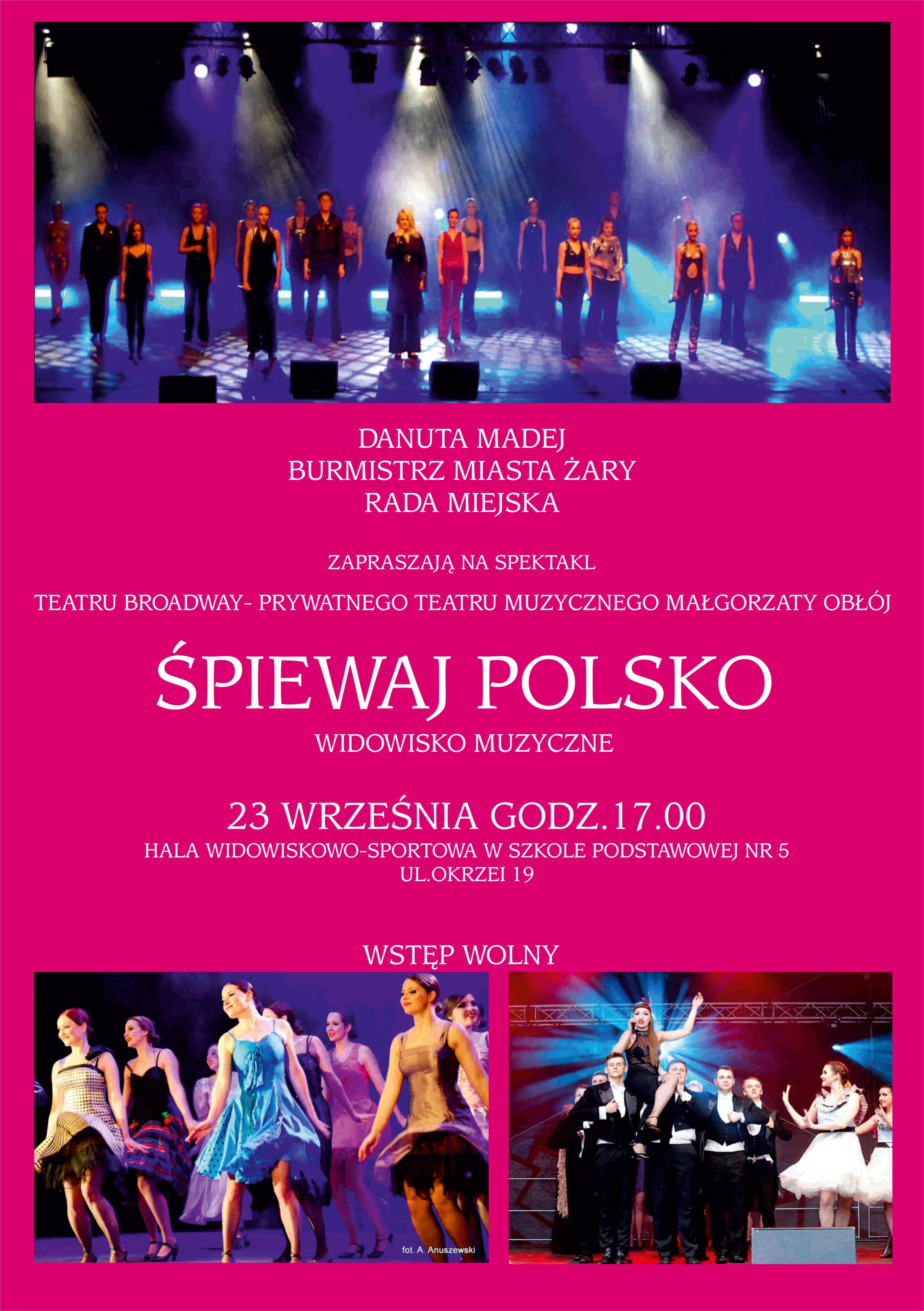 Ilustracja do informacji: Śpiewaj Polsko