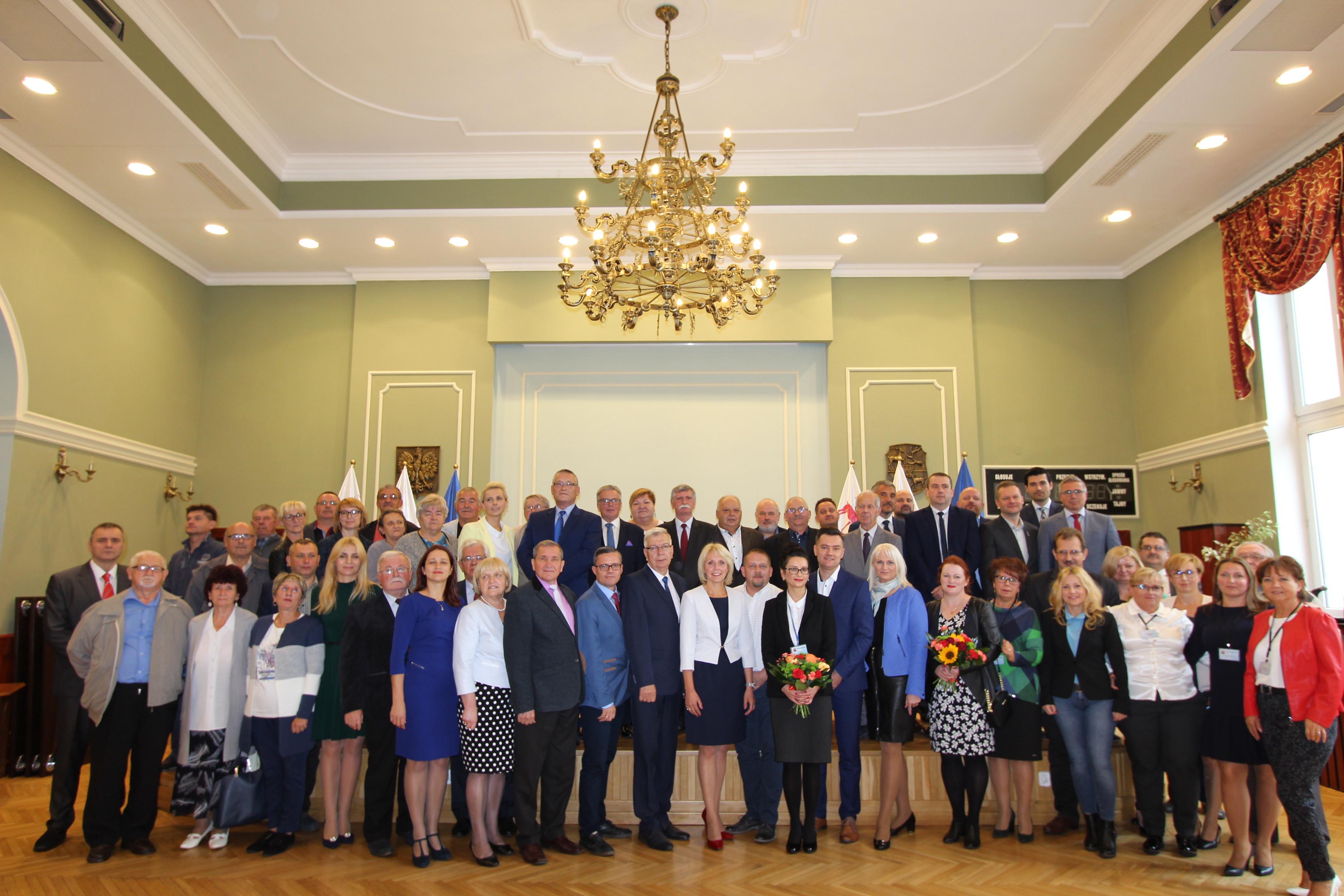 Ilustracja do informacji: To była ostatnia sesja Rady Miejskiej w Żarach kadencja 2014 - 2018