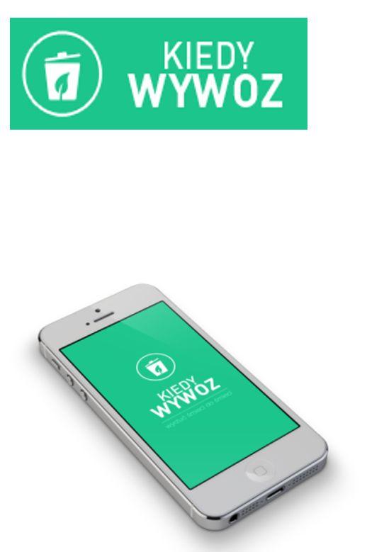 Ilustracja do informacji: Aplikacja na Smartfona KIEDY WYWÓZ