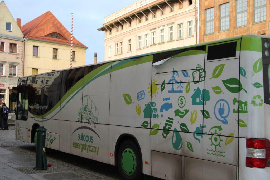 Ilustracja do informacji: Autobus Energetyczny w Żarach