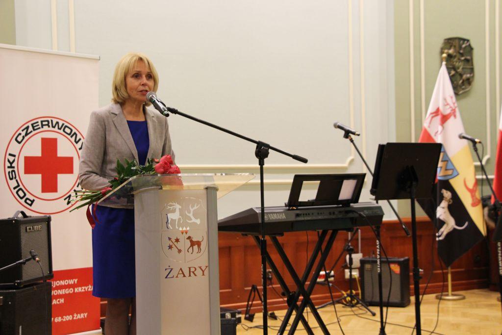 Ilustracja do informacji: 60- lecie Honorowych Dawców Krwi PCK w Żarach