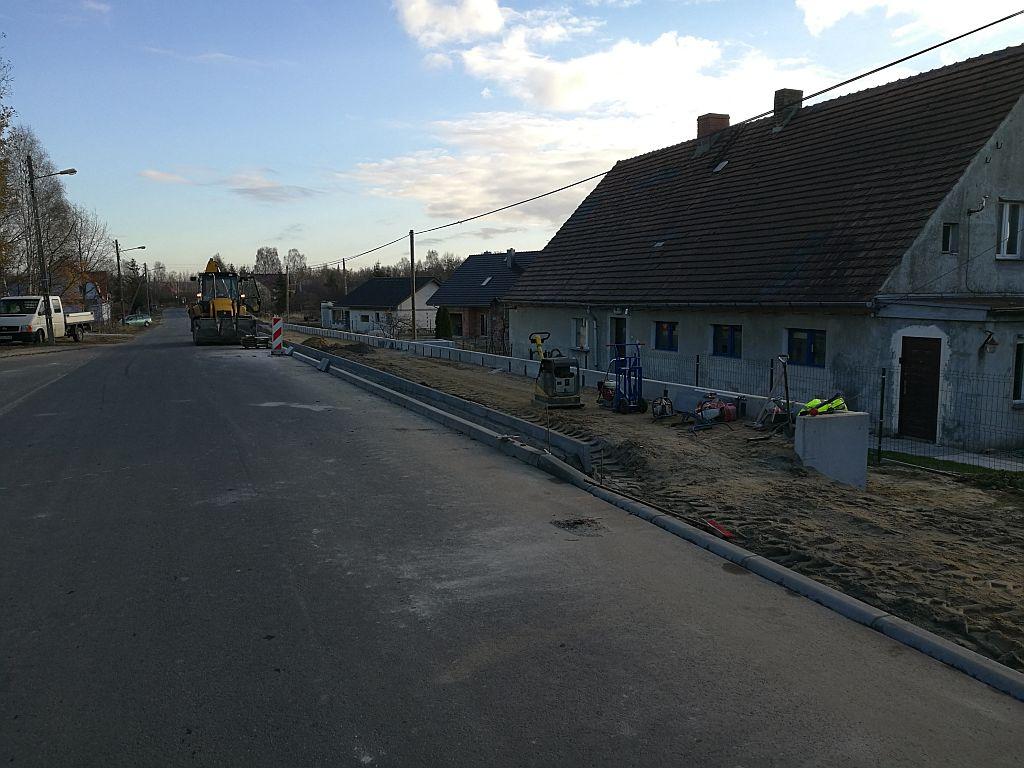 Ilustracja do informacji: Ścieżka pieszo – rowerowa w Kunicach