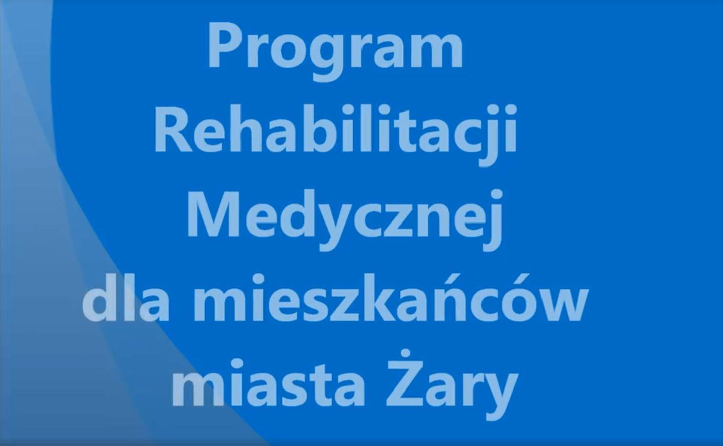 Ilustracja do informacji: Program rehabilitacji medycznej dla mieszkańców miasta Żary