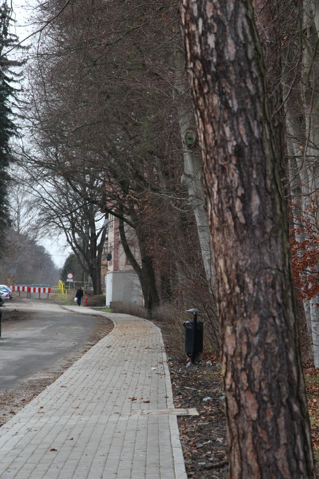 Ilustracja do informacji: Chodnik ul. Westerplatte