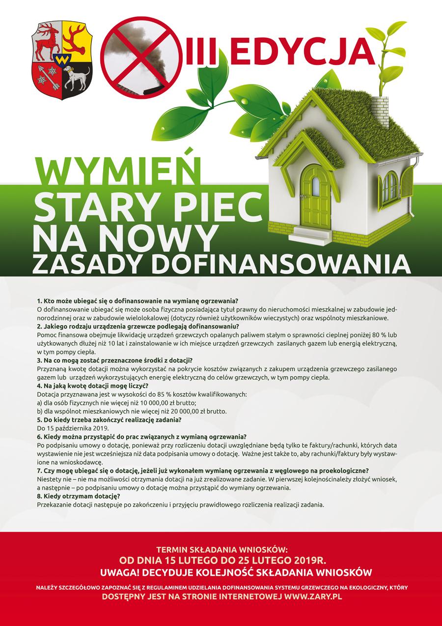 Ilustracja do informacji: III edycja programu wymiany pieców