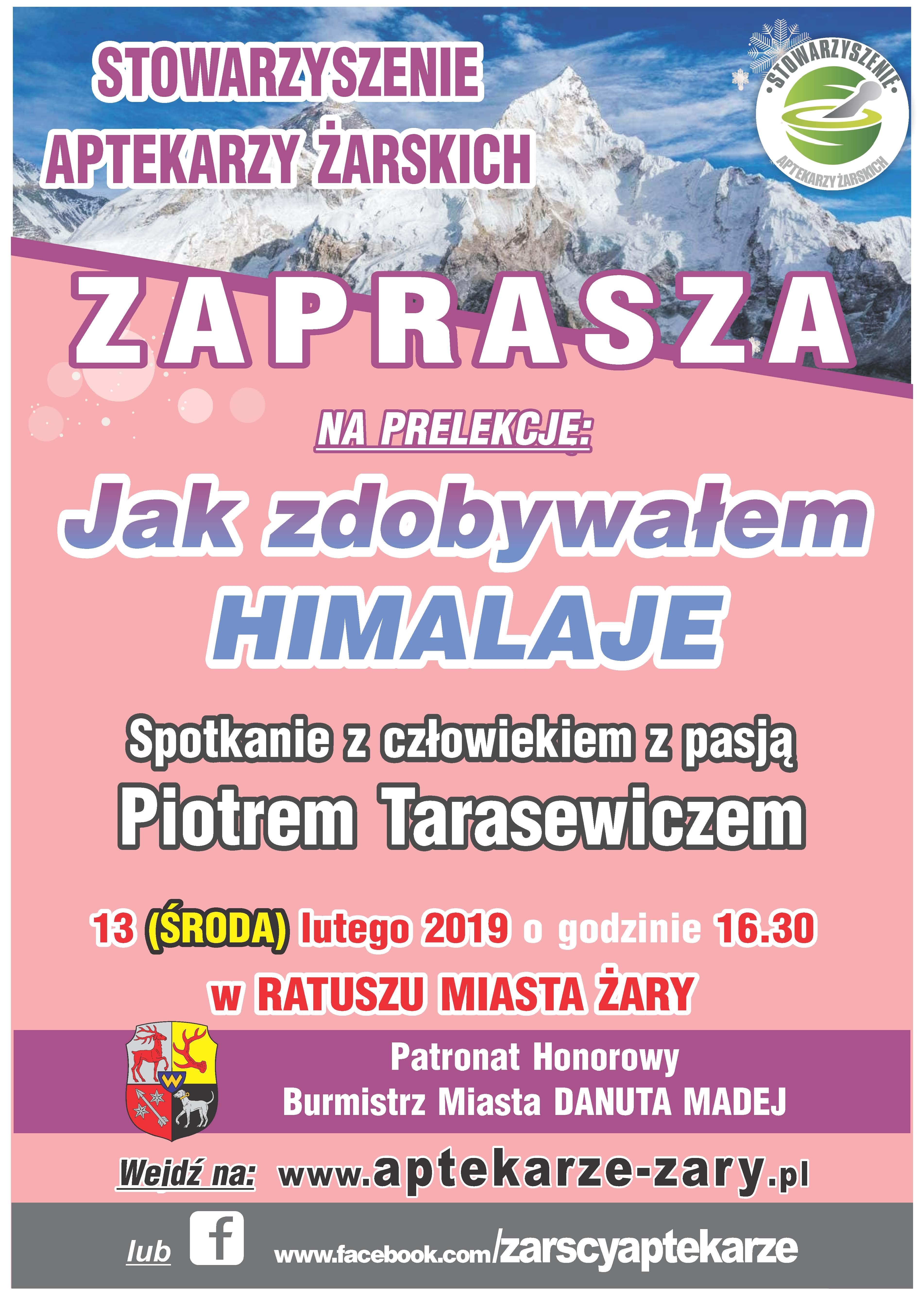 Ilustracja do informacji: Stowarzyszenie Aptekarzy Żarskich zaprasza na prelekcję