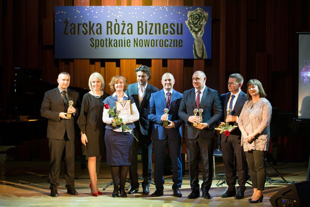 Ilustracja do informacji: Żarskie Róże Biznesu 2018 wręczone!