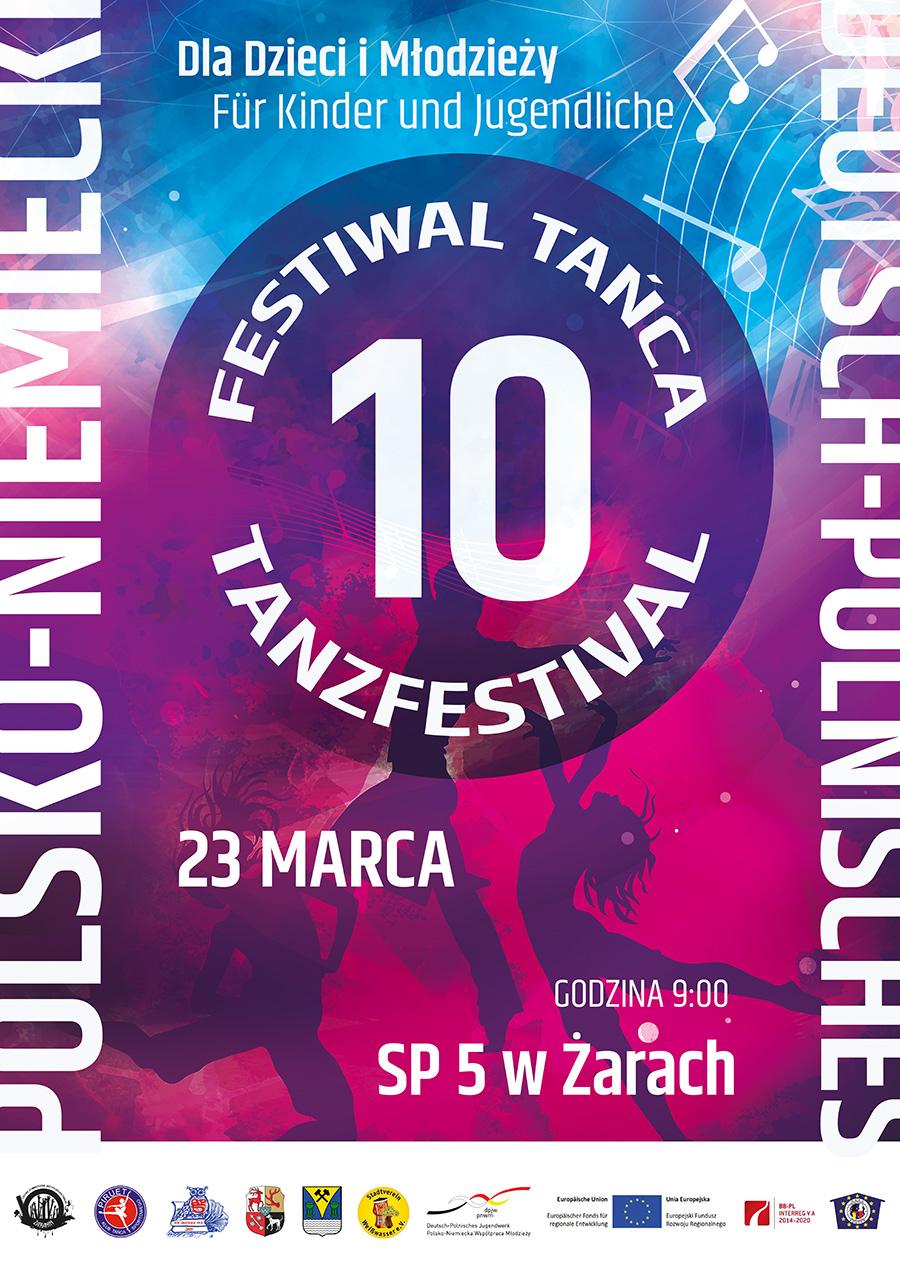 Ilustracja do informacji: Festiwal tańca