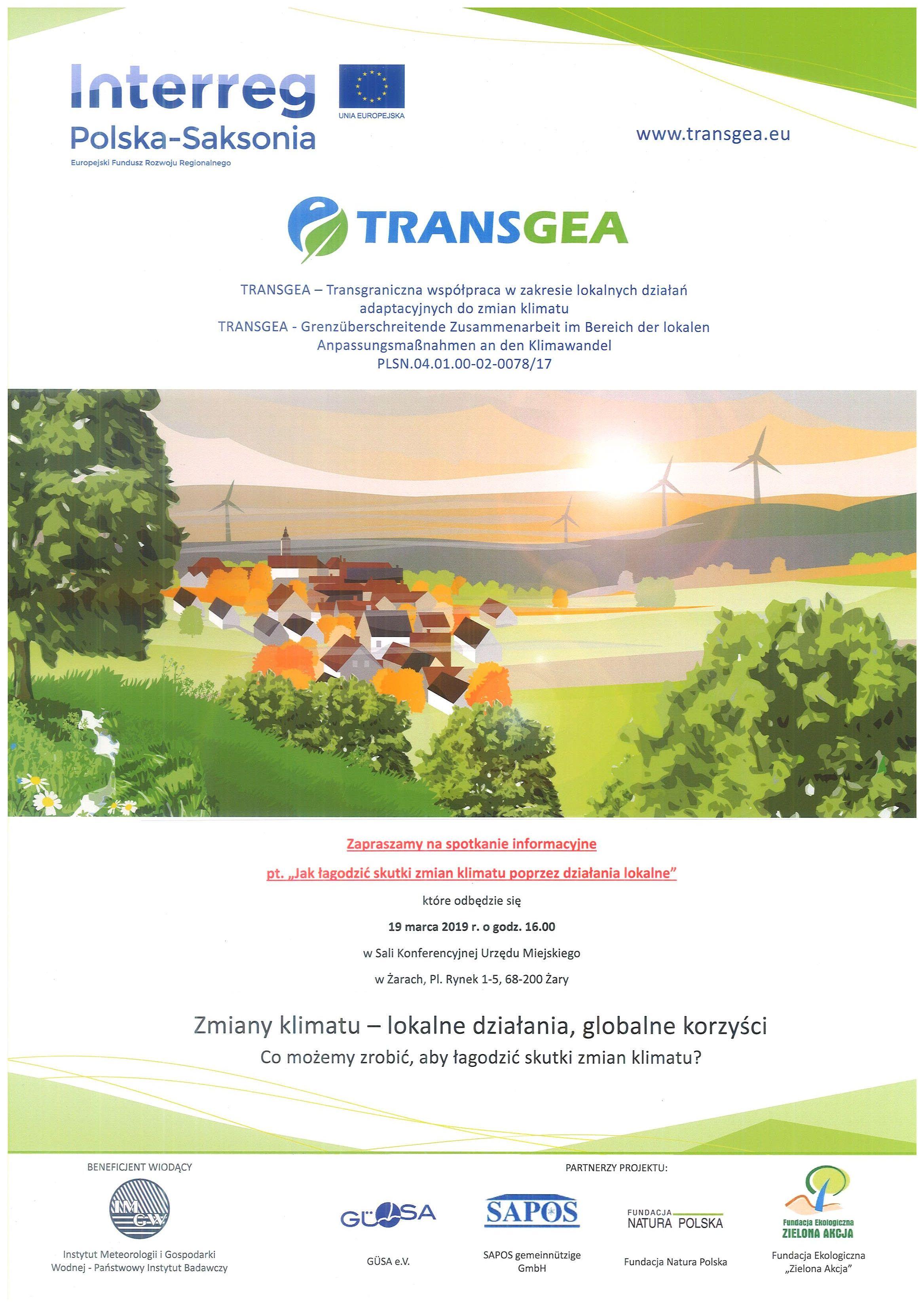"""Ilustracja do informacji: Zapraszamy na spotkanie """"Jak łagodzić skutki zmian klimatu poprzez działania lokalne"""""""