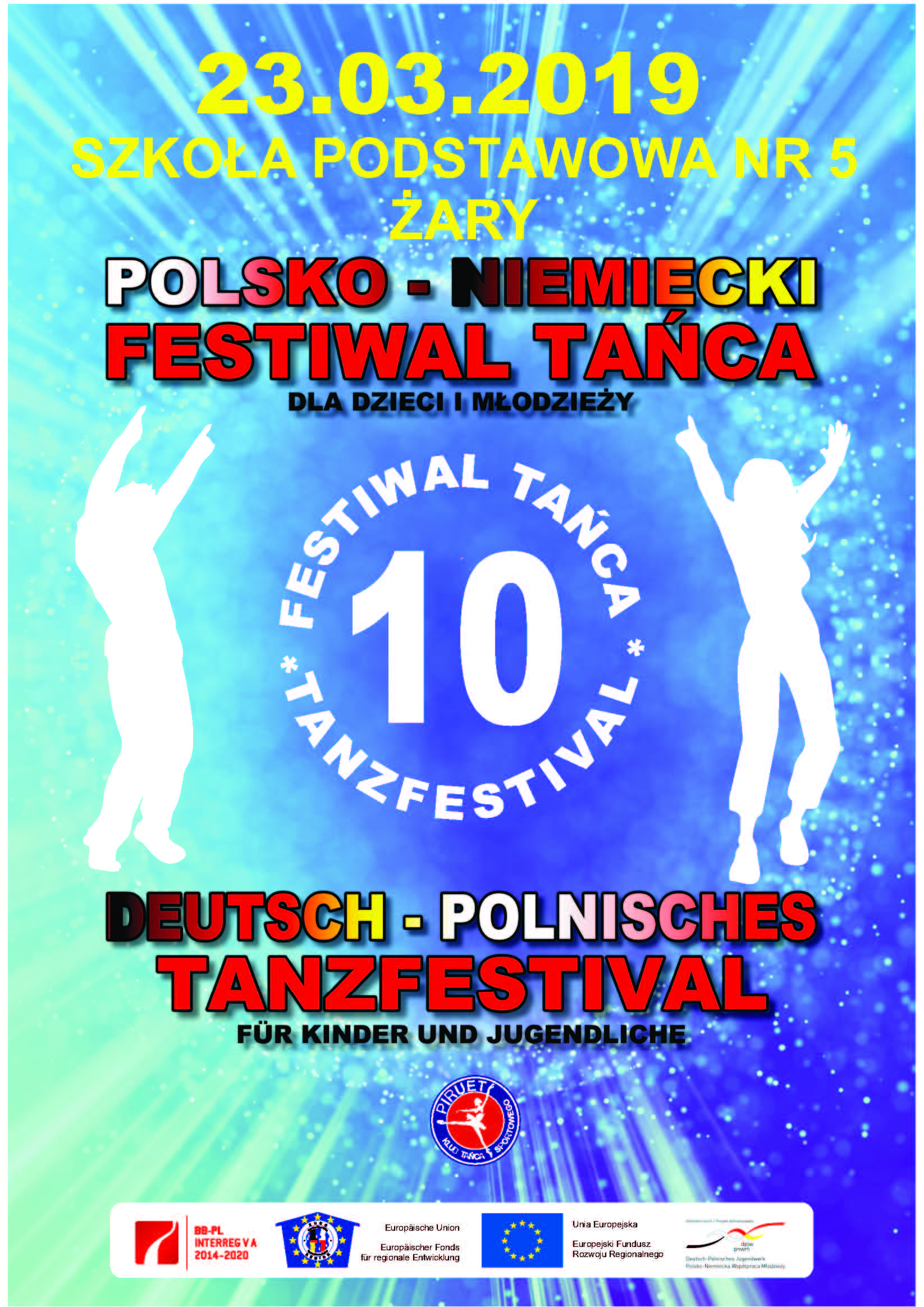 Ilustracja do informacji: Polsko-Niemiecki festiwal tańca