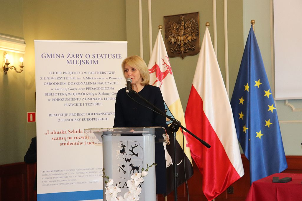 Ilustracja do informacji: Lubuska Szkoła Ćwiczeń w Żarach Szansą na rozwój nauczycieli, studentów i uczniów