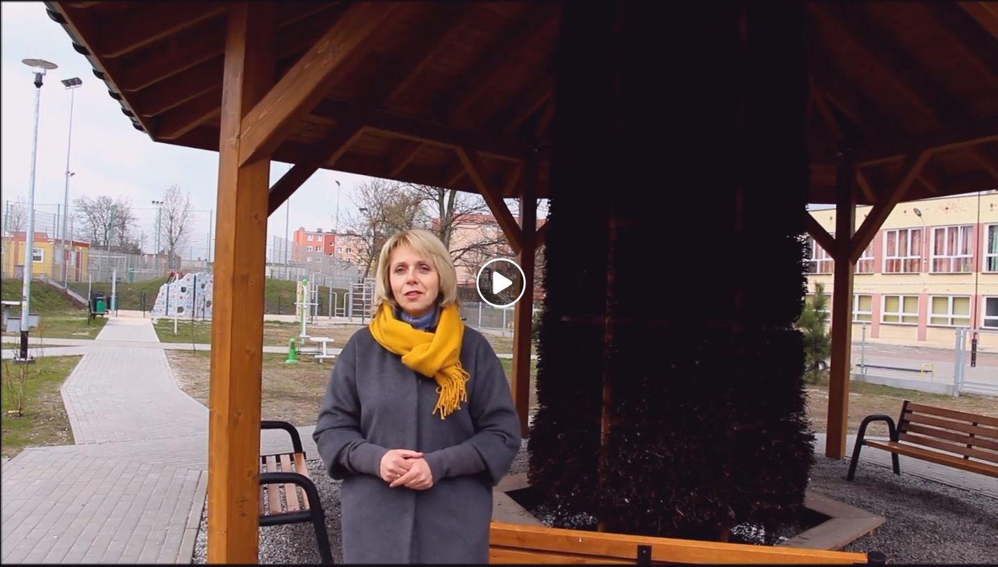 Ilustracja do informacji: Tężnia solankowa w Żarach